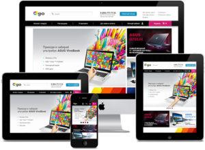 Разработка адаптивного дизайна и сайта