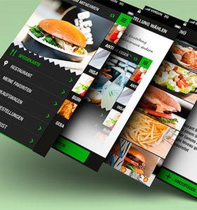Создание мобильного приложения для ресторана